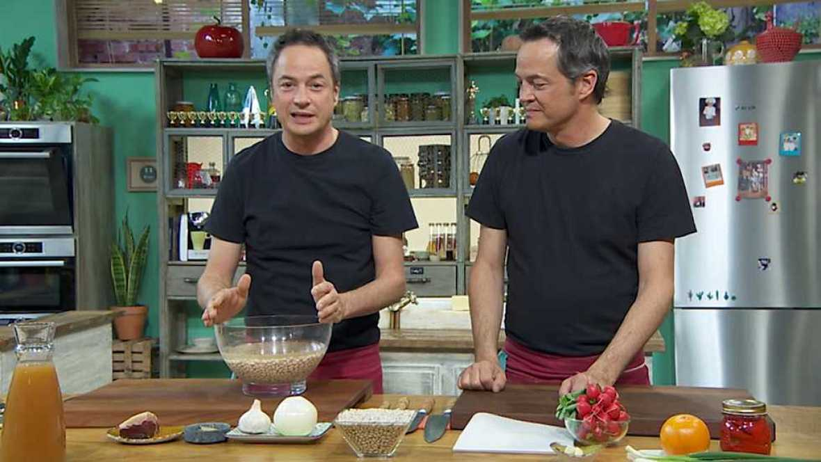 Torres en la cocina - Legumbres con almejas y ceviche de gambas - ver ahora