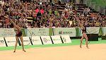Gimnasia rítmica - Fig World Challenge Cup. Clasificación Conjuntos.Rotación 1, 5 Aros