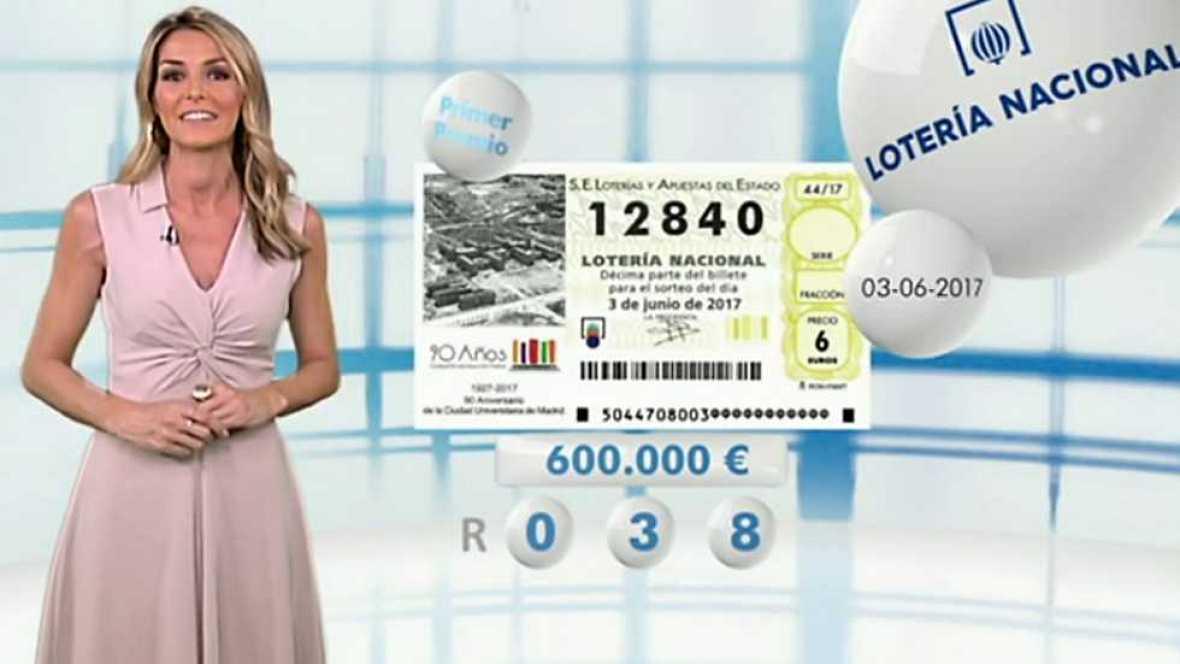 Lotería Nacional - 03/06/17 - ver ahora