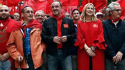 Movilizaciones contra la derogación de la ley de símbolos de Navarra