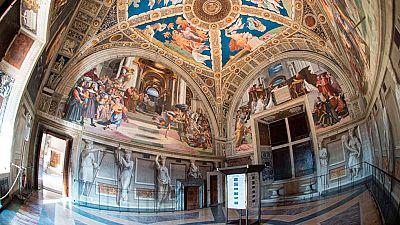 El maestro llavero de los Museos Vaticanos