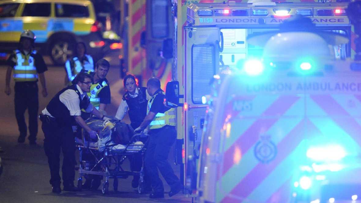 Un nuevo atentado en Londrees deja seis muertos y tres terroristas abatidos