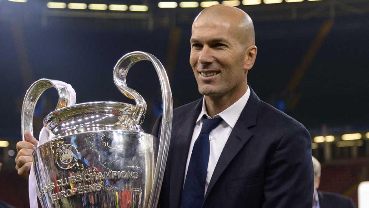 Zidane sigue haciendo historia en el Madrid