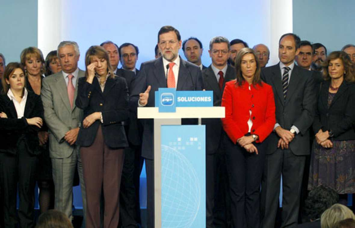 """Rajoy: """"Esto no es una trama del PP, es una trama contra el PP"""""""