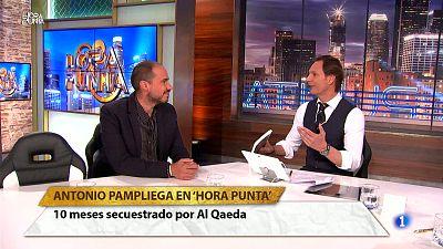 Hora Punta - Nos visita el periodista Antonio Pampliega. Estuvo 10 meses secuestrado por Al Qaeda en Siria. Un testimonio impresionante.