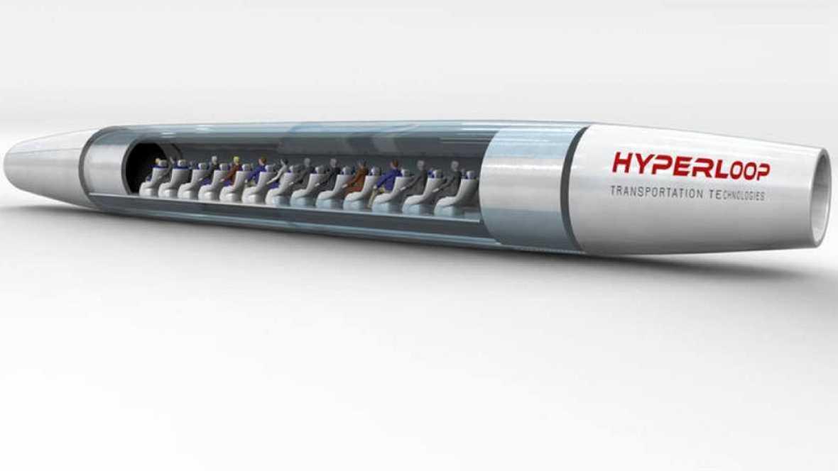 El Hyperloop es un medio de transporte en desarrollo que promete revolucionar las comunicaciones gracias a su gran velocidad y eficiencia. Este martes, se celebra en Amsterdam la semifinal del Hyperloop One Global Challenge en la que participa un equ