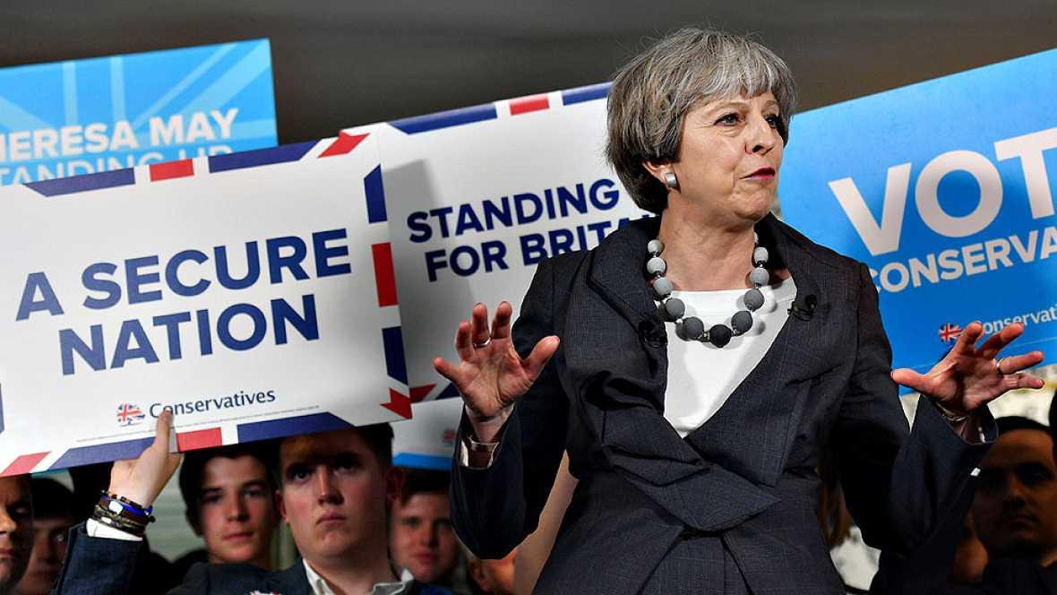 La seguridad se aúpa como el gran asunto de la campaña electoral en Reino Unido