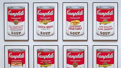 Se exponen por primera vez obras originales de Andy Warhol en Pekín