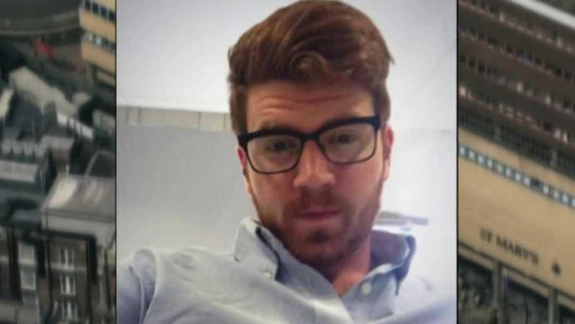 Alejandro Martínez, herido en el atentado en Londres, se recupera de sus heridas