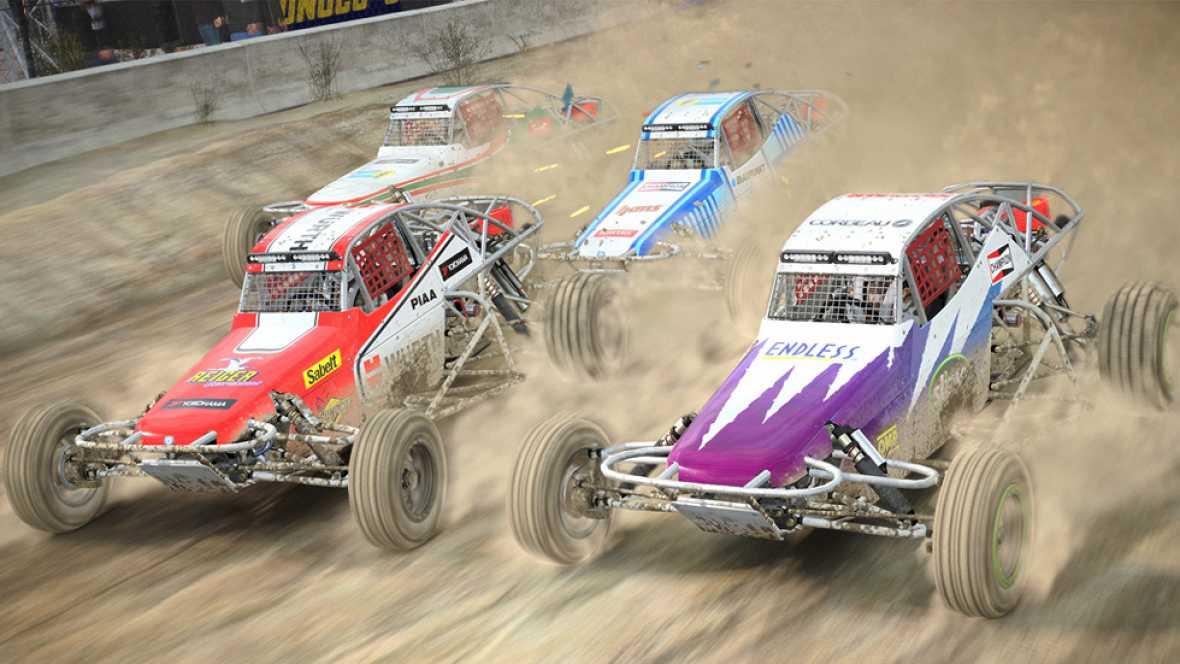 Rallycross, la modalidad más vertiginosa de 'DiRT 4'