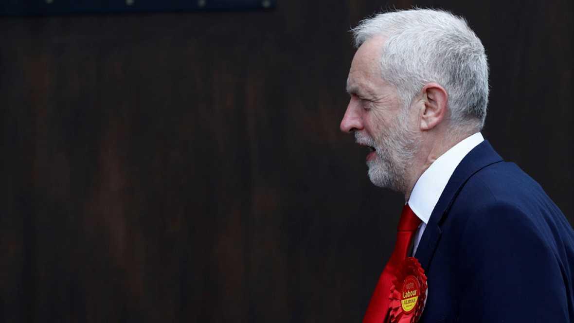 Corbyn, en RNE, envía su pésame a la familia de Echeverría