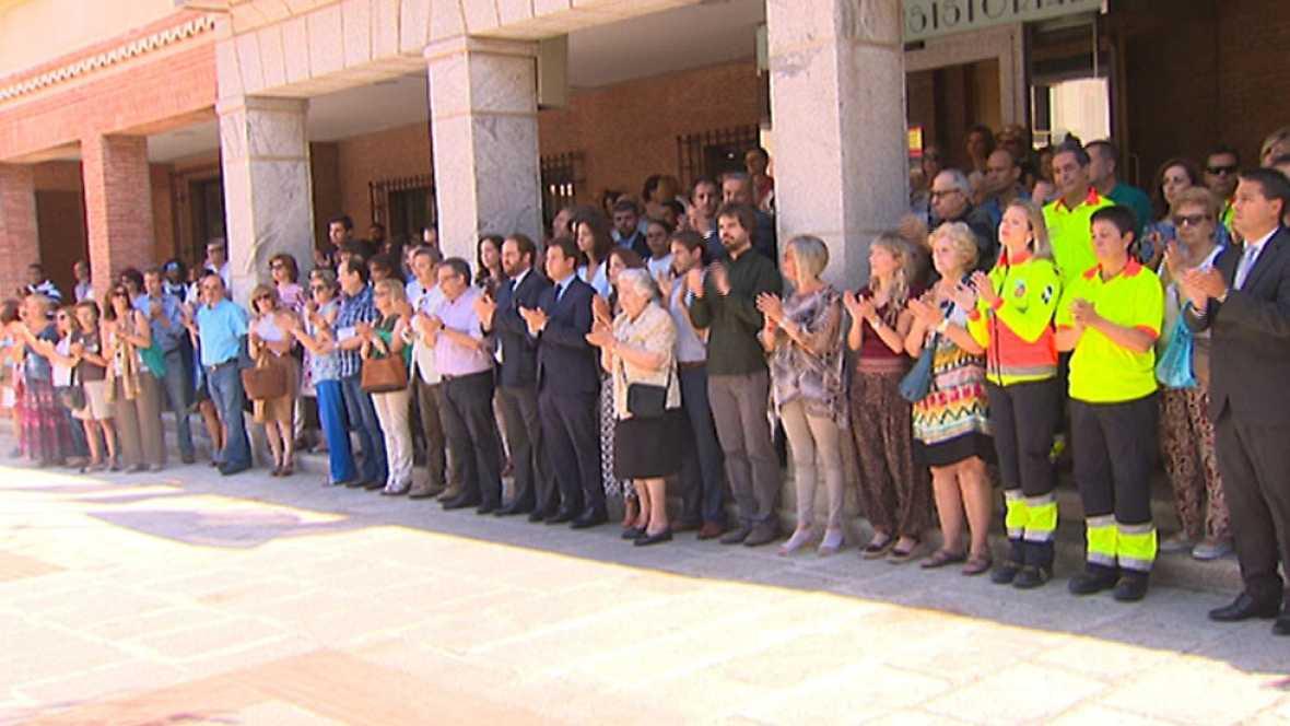 Concentraciones de repulsa por el asesinato de Ignacio Echeverría en las Rozas, Madrid y Comillas