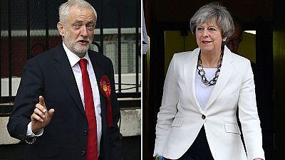 Notable afluencia de votantes a los colegios electorales en Reino Unido