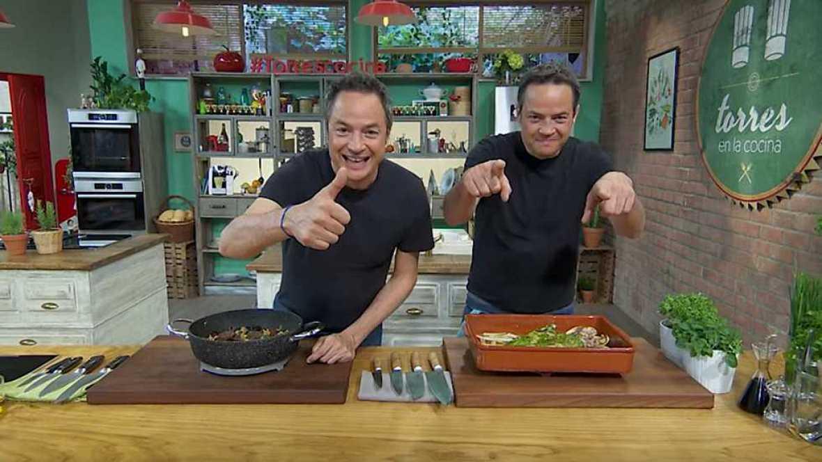Torres en la cocina - Callos vegetales y dorada al pesto - ver ahora