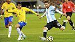 Fútbol - Amistoso Brasil-Argentina