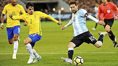 Fútbol - Amistoso Brasil-Argentina - ver ahora