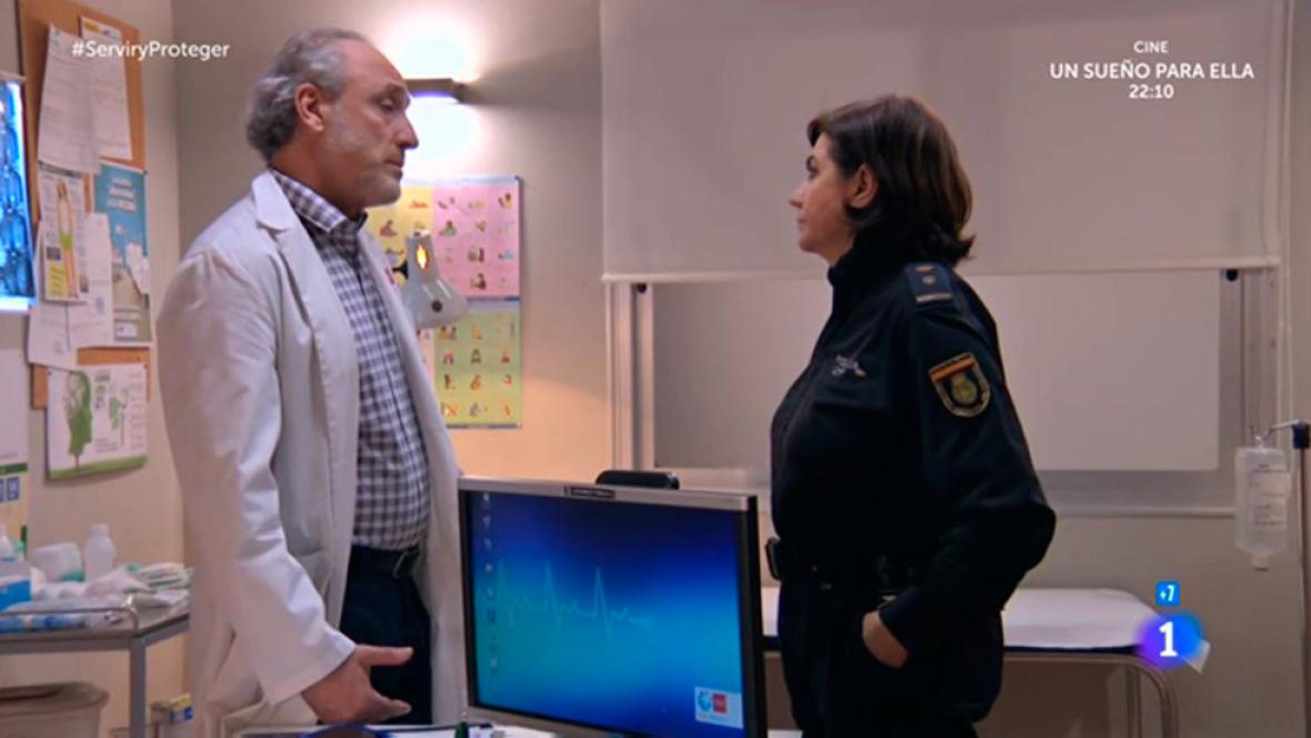 Servir y proteger - ¿Aceptará Antonio dirigir un hospital en Valencia?
