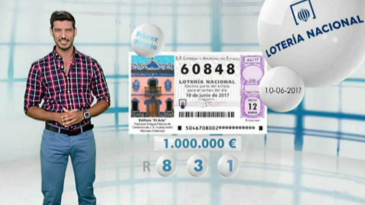 Lotería Nacional - 10/06/17 - ver ahora