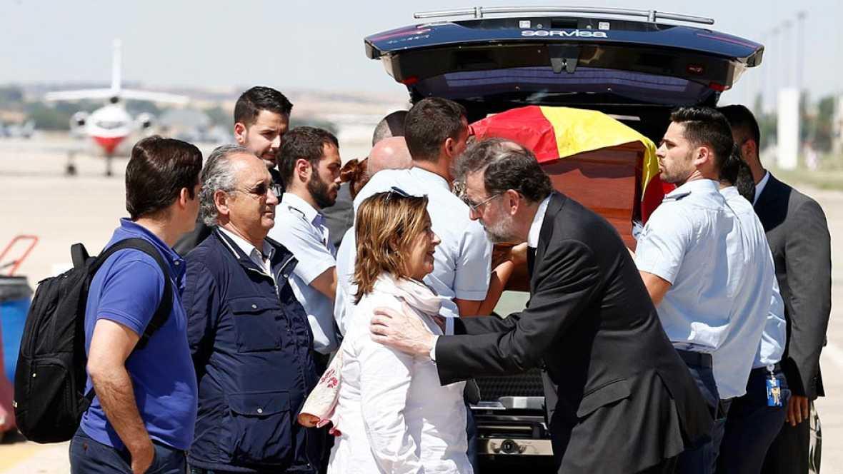 El cuerpo de Ignacio Echeverría ha llegado al aeropuerto de Torrejón de Ardoz desde Londres