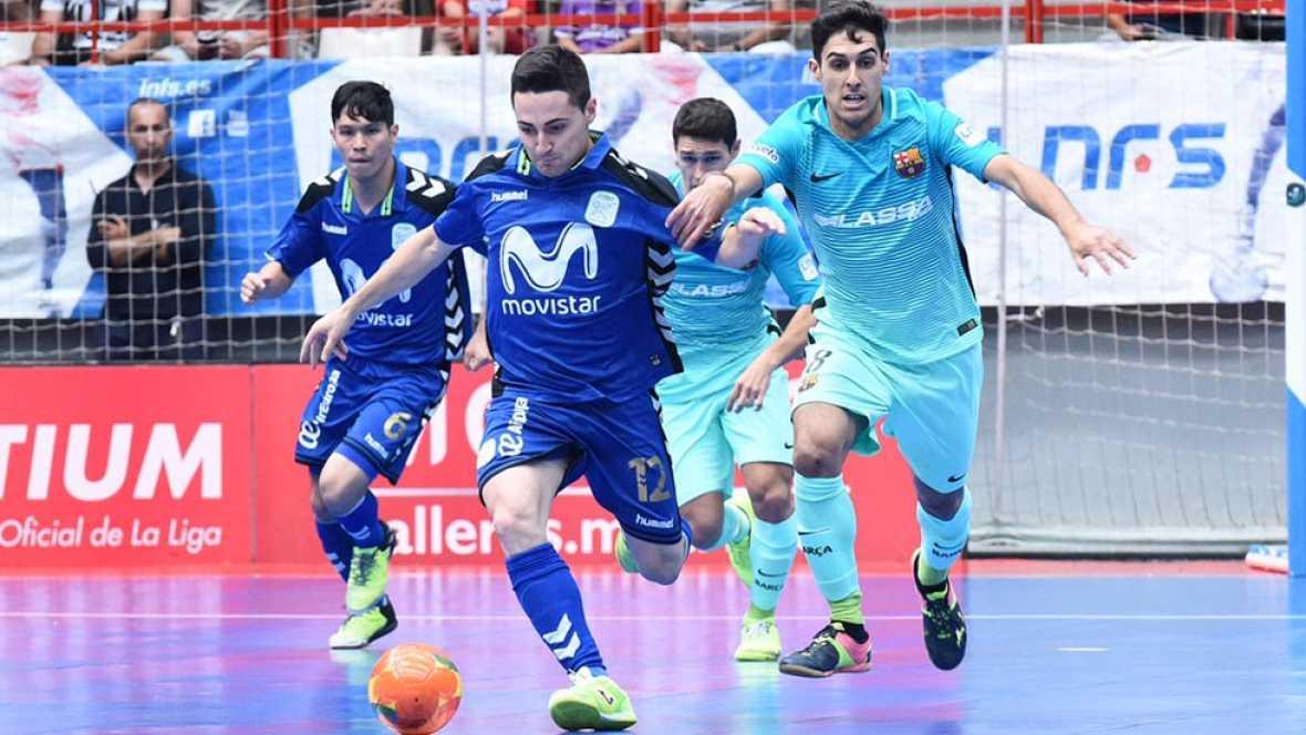 LNFS. Final. Partido 2. Movistar Inter 6-1 FC Barcelona. Resumen - ver ahora