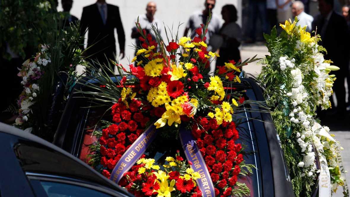 Ignacio Echeverría ha recibido sepultura en el Cementerio de Las Rozas en Madrid