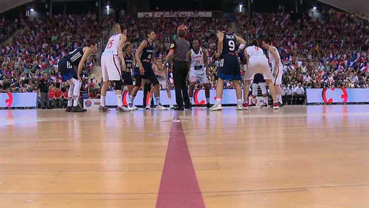 Baloncesto - 'Gira' Selección Femenina: Francia - España - ver ahora
