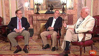 Parlamento - La entrevista - 40 años de democracia : Ramón Tamames (PCE), Juan Barranco (PSOE) y José Manuel García-Margallo (UCD) - 10/06/2017