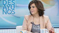 Los desayunos de TVE - Soraya Sáenz de Santamaría, vicepresidenta del gobierno - ver ahora