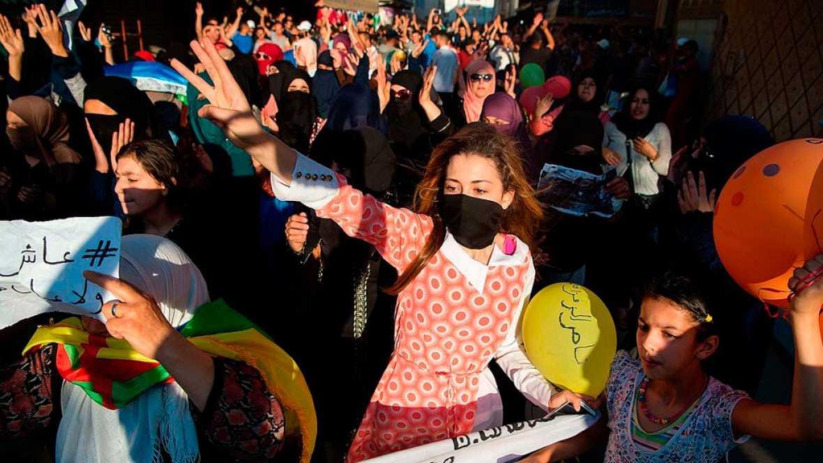 Marruecos - El movimiento de protesta en el Rif se extiende a las redes sociales