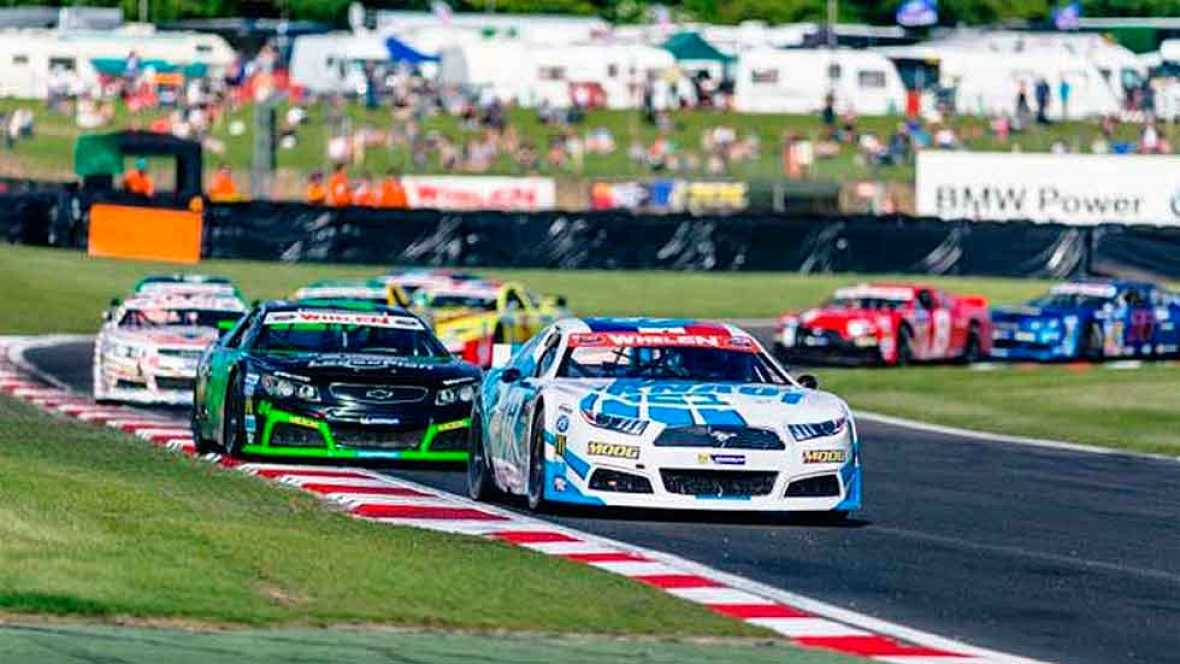 EuroNASCAR 2017. Brands Hatch. Elite 1. Resumen