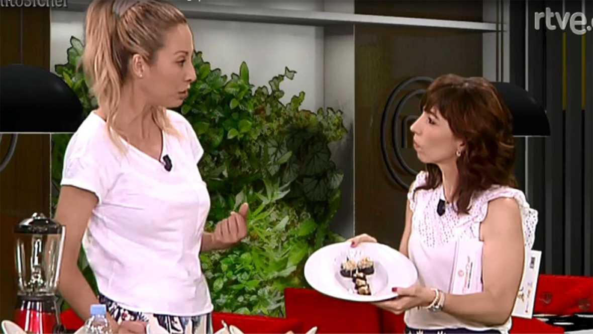 """Laila cocina """"raw sushi"""" en directo en 'Sí, Chef'"""
