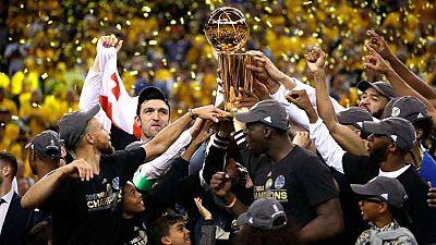 Liderados por el MVP Kevin Durant, los Warriors de Golden State han conquistado su segundo campeonato de la NBA en los últimos tres años, tras derrotar a los Cavaliers por 4-1.