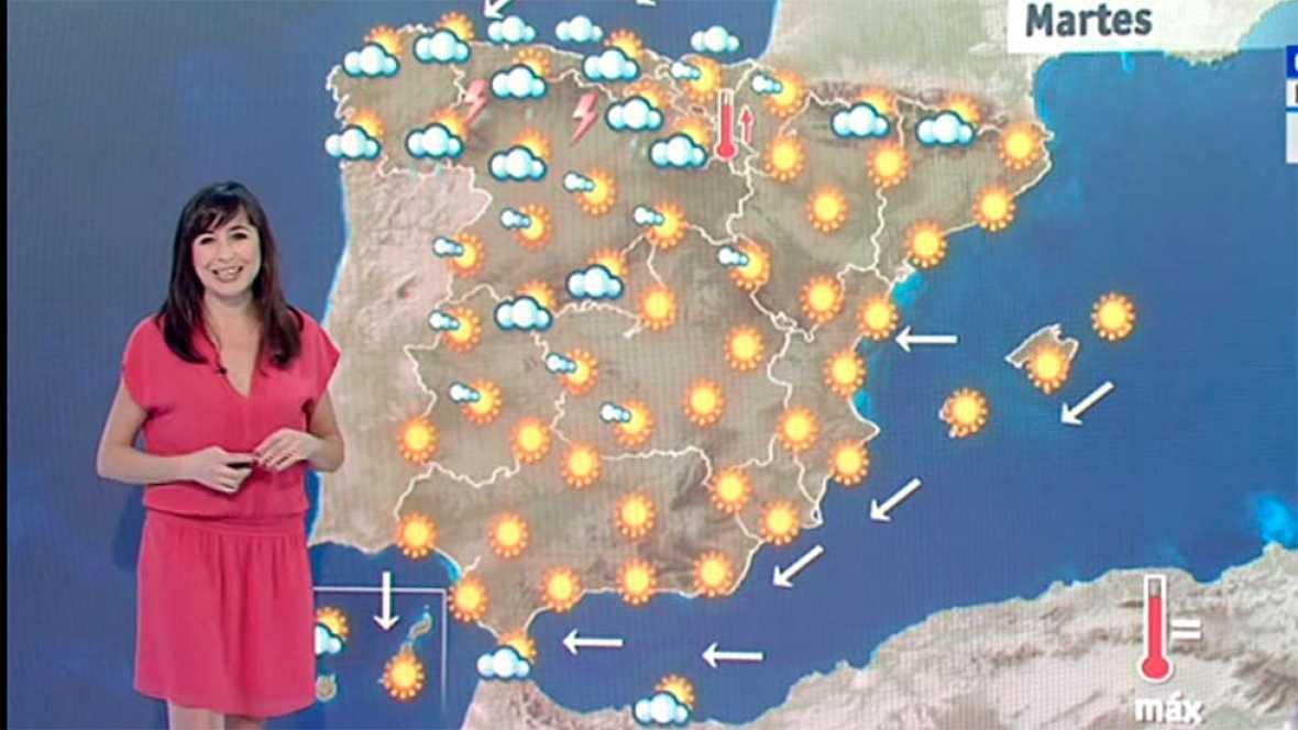 El tiempo - Continúan las temperaturas altas y los avisos por el calor en el centro de la Península