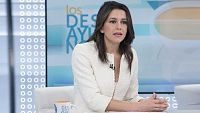 Los desayunos de TVE - Inés Arrimadas, portavoz de Ciudadanos y líder de su formación en Cataluña - ver ahora