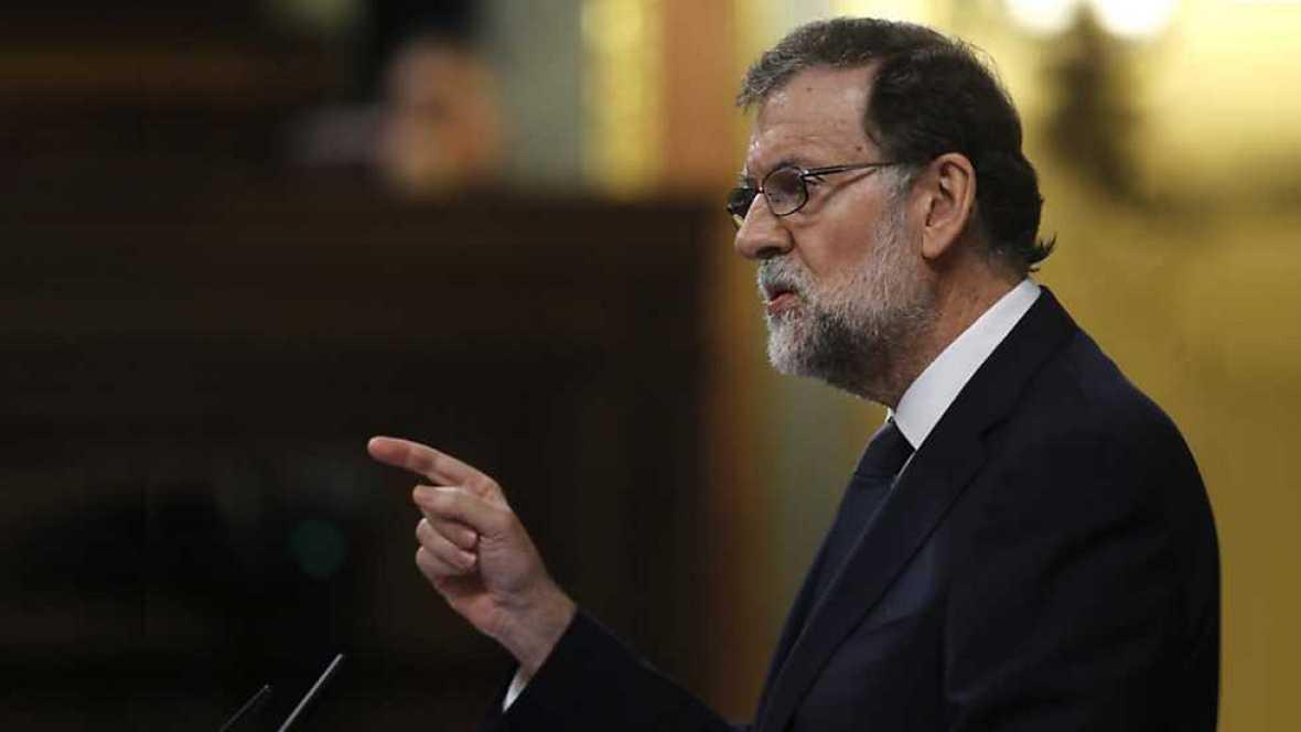Especial informativo - Debate de la moción de censura de Unidos Podemos a Rajoy (2) - ver ahora ahora