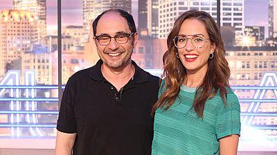 """Hora Punta - Jordi Sánchez y Silvia Alonso nos presentan su nueva peli """"Señor, dame paciencia"""""""