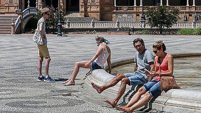 Intenso calor en Baleares y la mayor parte de la península
