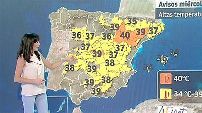 El tiempo - La ola de calor se afianza hasta el domingo