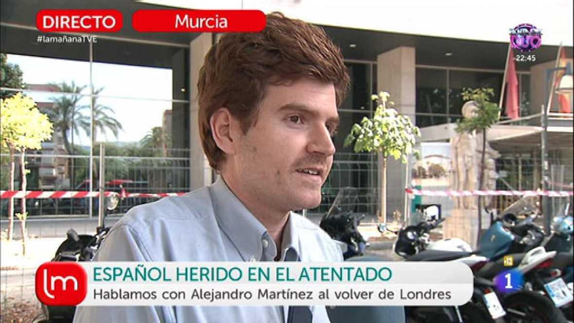 Entrevista al español herido en Londres