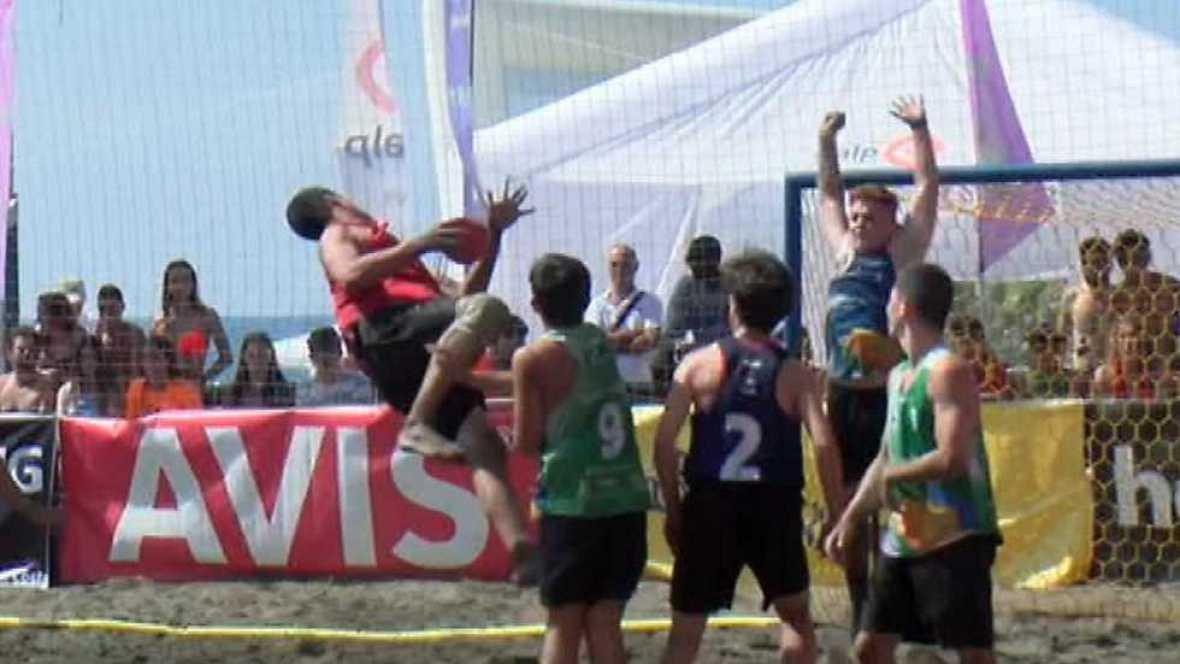 Balonmano Playa - Copa de España Resumen - ver ahora