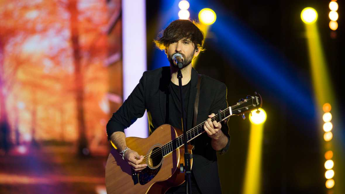 "Fantastic Duo - David Otero interpreta en directo ""Aire"""