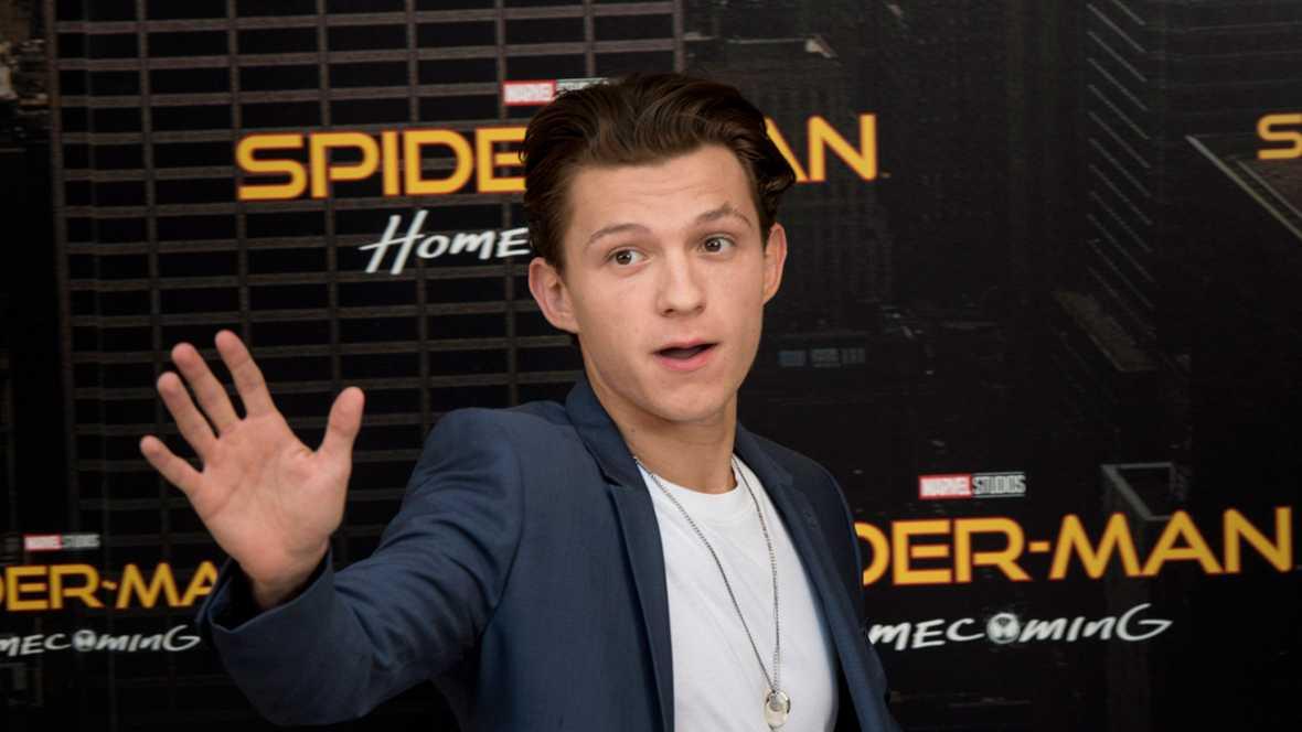 Tom Holland y Zendaya presentan 'Spider-Man: Homecoming' en Madrid