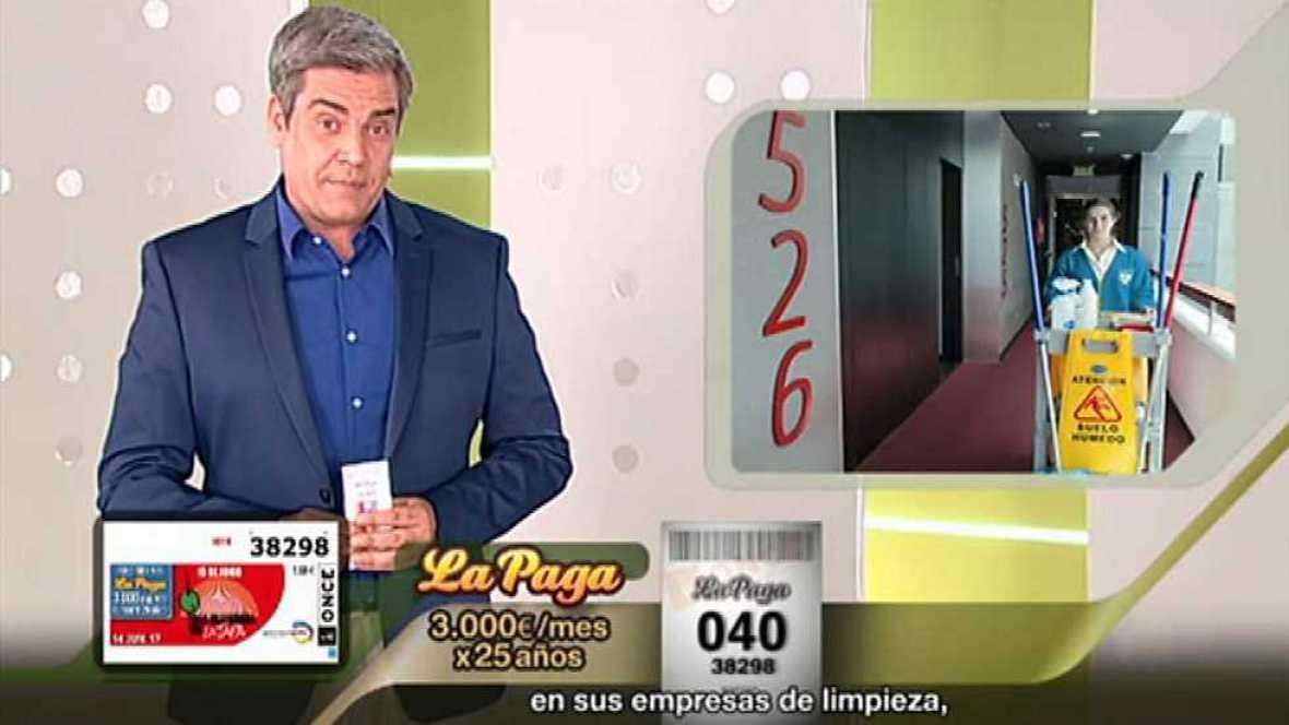Sorteo ONCE - 14/06/17 - ver ahora