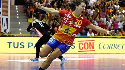La selección española de balonmano ha logrado el pase para el Mundial de Alemania 2017 tras ganar a Ucrania con un ajustado 22-20 en Antequera.
