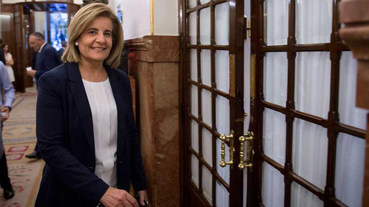 La ministra de Empleo Fátima Bañéz anunciado en Luxemburgo que el Gobierno promoverá una  ayuda directa de 430 euros para jóvenes