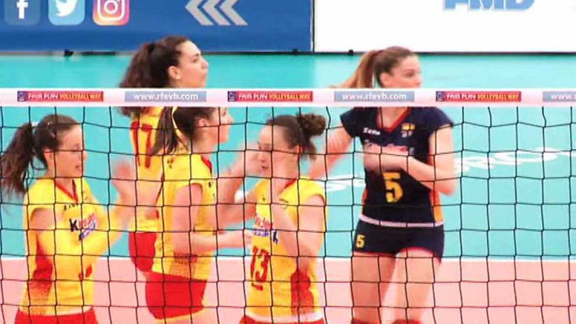 Voleibol - Liga europea femenina. Resumen - ver ahora