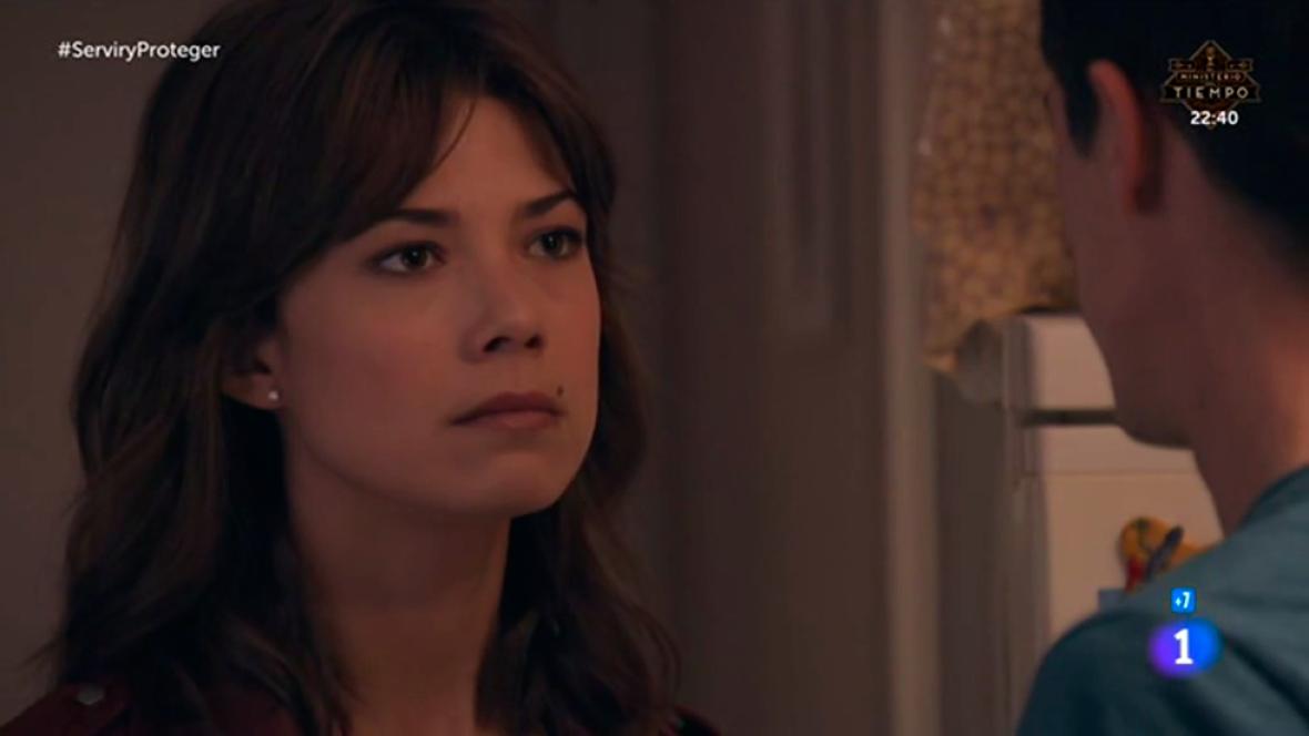 """Servir y proteger - Alicia a Rober: """"No quiero nada contigo"""""""