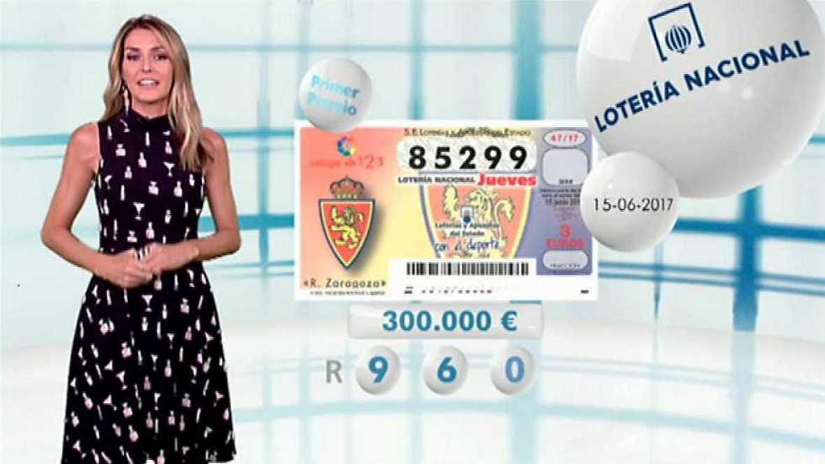 Lotería Nacional + La Primitiva + Bonoloto - 15/06/17 - ver ahora