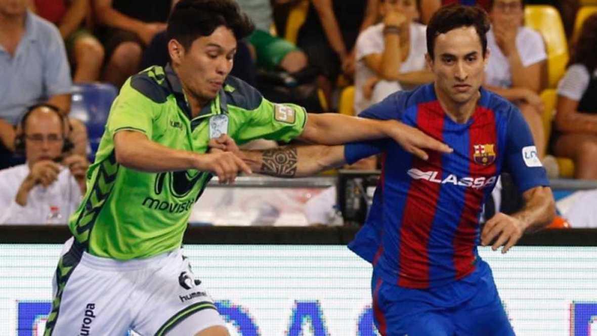 Fútbol Sala - Liga Nacional Play Off Final 3º partido: FC Barcelona Lassa-Movistar Inter - ver ahora