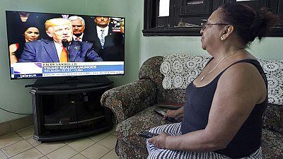 """Trump desactiva la apertura de Obama hacia Cuba y exige """"elecciones libres"""""""